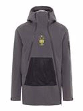 J. Lindeberg Mens Bute Jacket Asphalt Black L