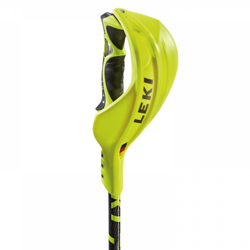 Leki Gate guard closed World Cup Yellow