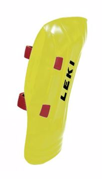 Leki Shin Guard Worldcup PRO Junior Yellow OneSize