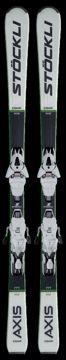 Stöckli Axis Comp Inkl. MC11 Bind. Black-White 170
