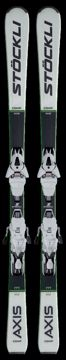 Stöckli Axis Comp Inkl. MC11 Bind. Black-White 177