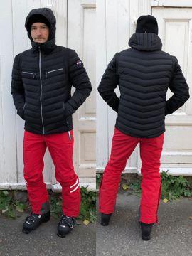 Vuarnet Mens Lambert Down Jacket Black XXL