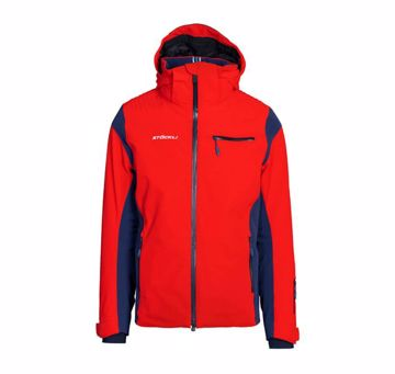 Stöckli Mens Race Jacket Red-Navy L