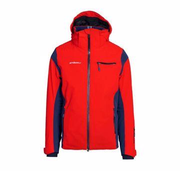 Stöckli Mens Race Jacket Red-Navy XL