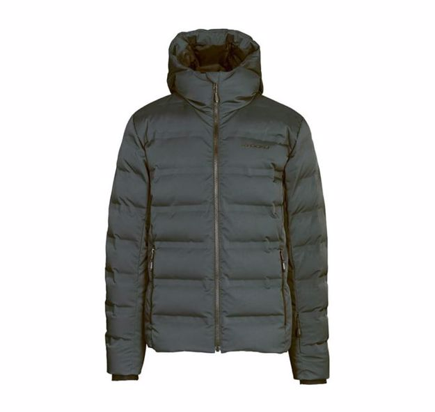 Stöckli Mens Down Jacket Antracite L