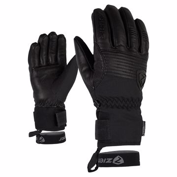 Ziener Gingo Alpine Ski Glove Black 9