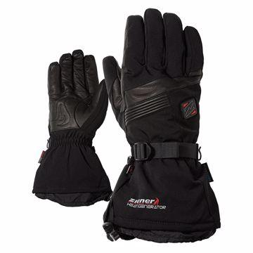 Ziener Germo Hot Alpine Ski Glove Black 8.5