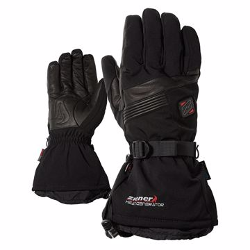 Ziener Germo Hot Alpine Ski Glove Black 9.5