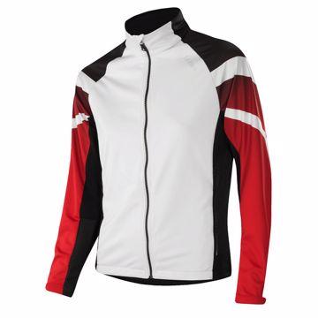Löffler Wms Worldcup Jacket White-Red 40