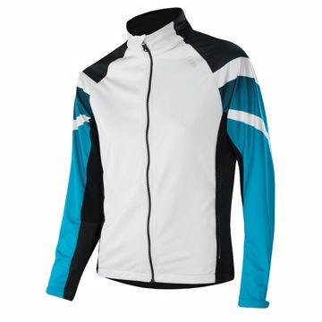 Löffler Wms Worldcup Jacket White-Topaze Blue  40