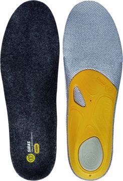 Sidas 3 Feet Merino Såle High Grey XS