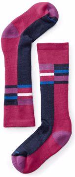 Smartwool Jr. Wintersport Stripe Potion Pink S