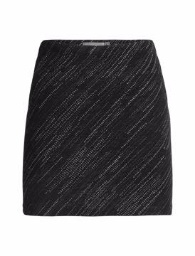 Icebreaker Wmns Affinity Skirt Snow Storm Black M