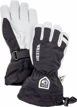 Hestra Jr. Army Leather Heli Ski Hansker Svart 6