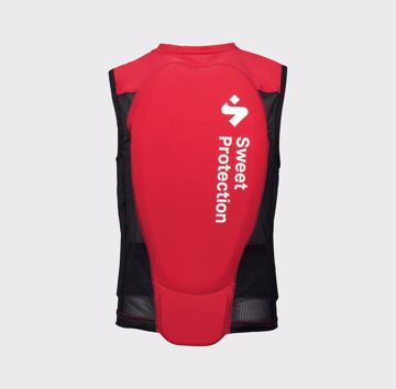 Sweet Jr. Back Protector Vest Rubus Red XS