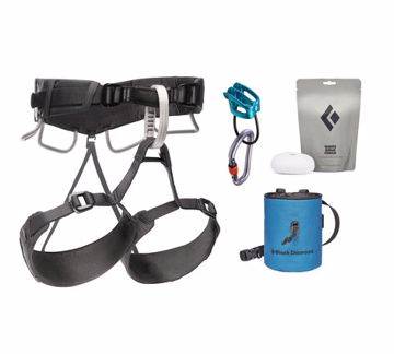 Black Diamond Momentum 4S Harness Package  L-XL