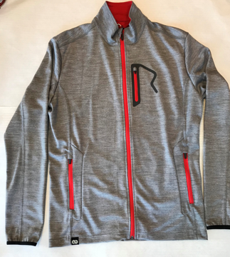 Rewoolution Mens full zip Fog XL