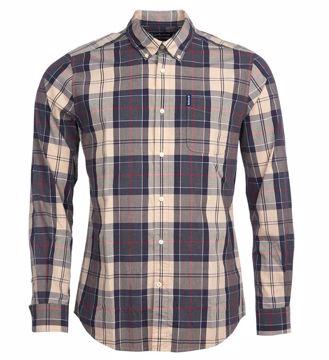 Barbour Mens Sandwood Shirt Stone XL