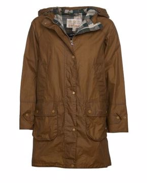 Barbour Wms Maddison Wax Jacket Sand