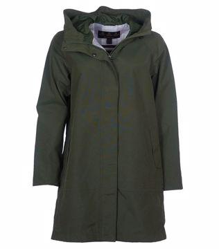Barbour Wms Subtropic Jacket Moss Green 12