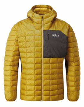 Rab Mens Kaon Jacket Dark Sulphur M