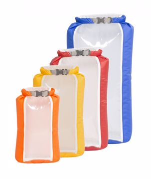 Exped Fold Drybag CS m/vindu 5L Yellow