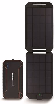 Powertraveller Extreme Solar Kit Black