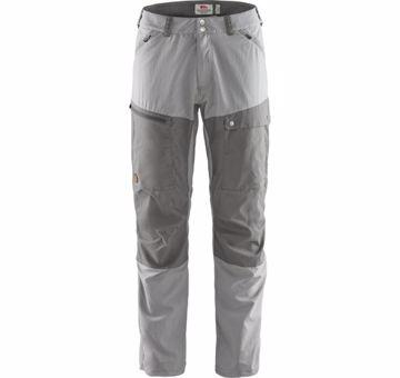 Fjällräven Mens Abisko Midsummer Trousers Shark Grey/Super Grey 52