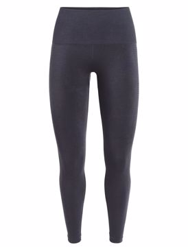 Icebreaker Wms Motion Seamless High Rise Tights panther L