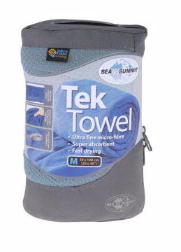Sea To Summit Tek Towel L Blue OneSize
