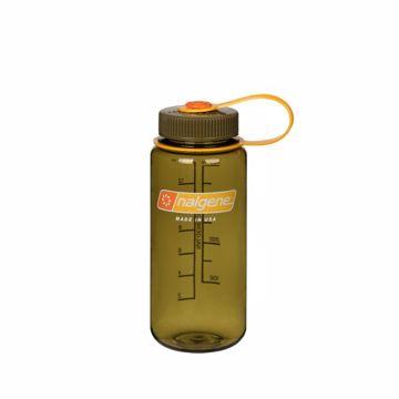 Nalgene 0,5L Vid Kork Olive Drikkeflaske