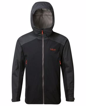Rab Mens Kinetic Alpine Jacket Beluga XXL