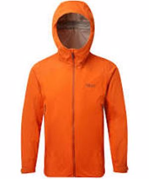 Rab Mens Kinetic Alpine Jacket Firecracker XXL