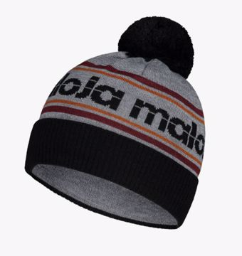 Maloja GaninaM. Knitted Beanie Moonless