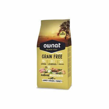 Ownat Grain Free Prime Junior Chicken 14kg