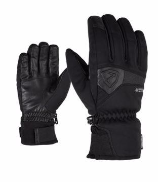 Ziener Garcon GTX Ski Glove Black 9