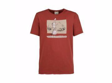 E9 Mens Caffe T-shirt Russet S