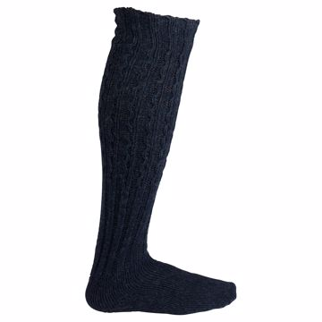 Amundsen Sports Traditional Knickerbocker Socks Faded Navy 36-40