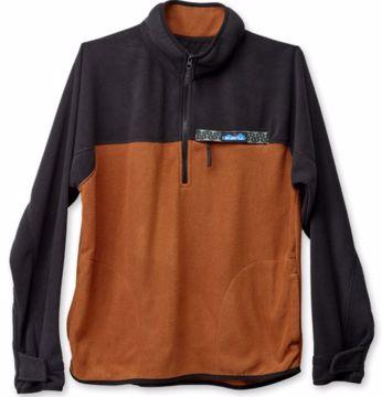 Kavu Mens Winter Throwshirt Tundra Fleecegenser S