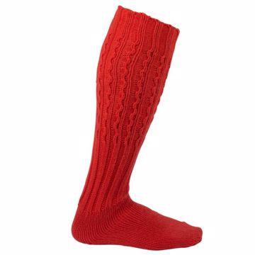 Amundsen Sports Traditional Knickerbocker Socks Weathered Red 36-40