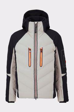 Bogner Mens Felian Ski Jacket Black-Khaki 52