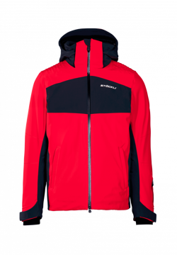 Stöckli Mens Jacket Race Red-Antracite XL
