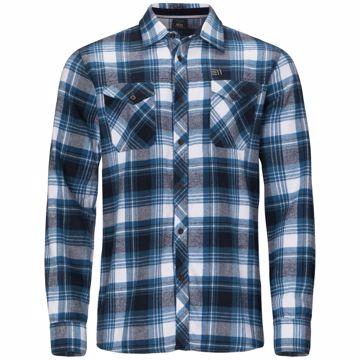 Elevenate Mens Cham Shirt Lyons Blue S