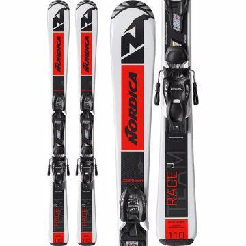 Nordica Jr. Team R Skis Inkl. Marker 4.5
