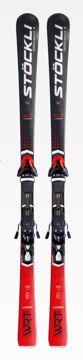 Stöckli Laser WRT Black Inkl. Stökli Race Plate og Salomon SRT 12 172
