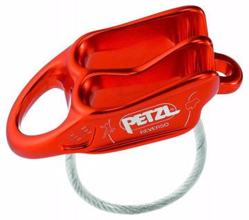 Petzl Reverso Taubrems Red OneSize