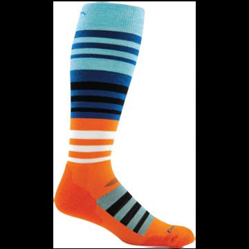 Darn Tough Mens Hojo Cushion Sock Orange L