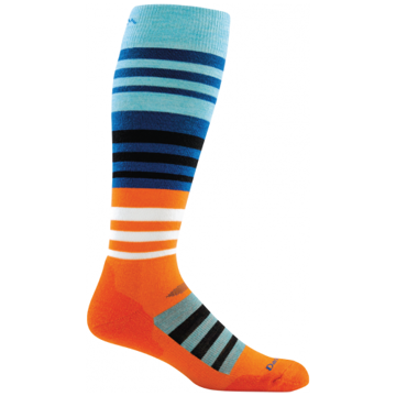 Darn Tough Mens Hojo Cushion Sock Orange M