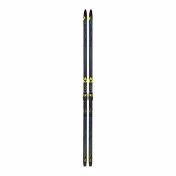 Fischer Twin Skin Superlite Medium EF Black/Yellow Inkl. Bind 194/Kroppsvekt ca 65-85 kg
