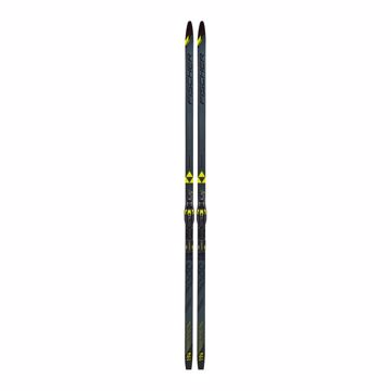 Fischer Twin Skin Superlite Medium EF Black/Yellow Inkl. Bind 199/Kroppsvekt ca 75-95 kg